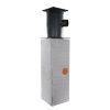 Infiltratie basis set, 200 liter, gietijzeren deksel, klasse A, h = 1000 mm