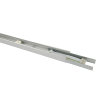 Adurolight® Titan goot, aluminium geanodiseerd, incl. verlengmodule, l = 1,48 m