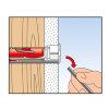 Fischer hollewandplug, type Duotec, 10 x 50 mm, blister à 2 stuks  detailimage_0010 100x100