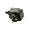 Condor koppelstekker met aarde voor PSN-O/PSN-X vlotterschakelaar, zwart, 230 V, nieuw model