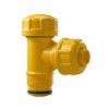 "Pipelife slagvaste pvc gasaansluitstuk, Gastec QA, SDR 17,6, 50 mm x 1½"""
