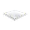 Skylux polycarbonaat- / acrylaat lichtkoepel, 2-wandig, helder, 160 x 220 cm