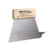 Bison lijmkam met houten handvat, nr. 1, lijmril b = 1 mm, h = 1 mm