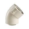 Ubbink Rolux UbiFit, bocht, concentrisch, 45°, Ø 80/125 mm, klemband, wit  detailimage_002 100x100