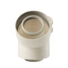 Ubbink Rolux UbiFit, bocht, concentrisch, 45°, Ø 80/125 mm, klemband, wit  detailimage_003 100x100