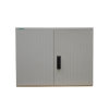 Geyer kast, polyester, lichtgrijs, IP44, GR2/870, 870 x 1115 x 320 mm, inclusief montageplaat