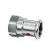 "Bonfix PRESS schroefkoppeling, staalverzinkt, binnendraad x pers, ¾"" x 28 mm"