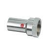 """Bonfix PRESS schroefkoppeling, staalverzinkt, binnendraad x steek, ½"""" x 12 mm"""