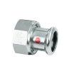 """Bonfix PRESS 2-delige koppeling, staalverzinkt, binnendraad x pers, 5/4"""" x 28 mm"""