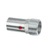 "Bonfix PRESS draadkoppeling, staalverzinkt, buitendraad x steek, ½"" x 12 mm"
