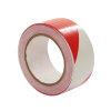 Multicoll markeringstape, pe, b = 50 mm, l = 66 m, rood/wit, per rol