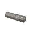 "Promat inbus adapter, aansluiting ¼"", l = 25 mm, sleutelmaat ¼"""