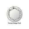 Promat ring- steeksleutelset, 8-delig, vorm B, chroom-vanadiumstaal, sleutelmaat 8-19 mm