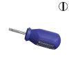 Promat sleufschroevendraaier, kort, sleuf 4 mm, l = 80 mm, lemmetlengte 25 mm