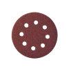 Promat schuurpad, met gaten, klitbevestiging, 115 mm, korrel 120, korund, voor hout/metaal