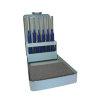 Promat drevelset, 6-delig, l = 150 mm, maat 3-4-5-6-8-10 mm, metalen cassette