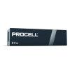 Duracell Procell alkaline batterij, 9V-block/E, doos à 10 stuks