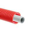 Bonfix Alu-pers systeembuis, wit, in rode mantelbuis, Kiwa, 16 x 2 mm, rol à 50 meter