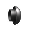 Dallai V-deel met laskoppeling, type C, zwart, 216 x 200 mm