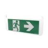 Adurolight® pictogram bord noodverlichting, acrylaat, pijl naar rechts