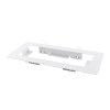 Adurolight® inbouwframe voor led noodverlichting, Jarno, 395 x 176 mm