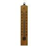 Thermometer voor buiten, hout, 20 cm