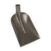 Betonschop, gehard staal, 220 x 350 mm, essenhout steel, T-greep, 110 cm