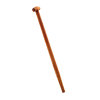Talen Tools spadesteel, T-greep, gewaxt essenhout, l = 76 cm