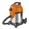 EUROM nat- / droogstofzuiger, type Force 1420S wet/dry, HEPA filter, 230 V, 1400 W