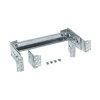 Hager DIN-rail, verdiept, set, 1 veld 250 mm