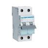 Hager installatie-automaat, 1p+N, B-karakteristiek, 6 kA, 10 A