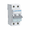 Hager installatie-automaat, 1p+N, B-karakteristiek, 6 kA, 16 A
