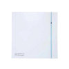 Soler & Palau toilet- / badkamerventilator, wit, type SILENT 100 CZ DESIGN 3C