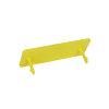 AVK Tragplatte Gas, gelb, f. AVK Straßenkappe, Typ Purdie