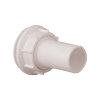 Nedco doorvoerset voor lekbak, type Standaard, Combi en Duo, pp, tule + moer, 32 mm, wit