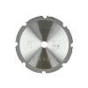 HiKOKI Proline cirkelzaagblad voor gips en cement gebonden platen, 190 x 20 mm, 8 tanden