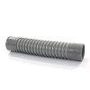 Flexibele bocht, pvc, 2x inwendig lijm, grijs, 50 mm, l = 241 mm