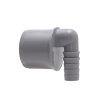 Airfit draadslangtule, pp, 90°, grijs, 50 x 21-19 mm slangtule