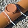 Airfit klemzadel, ontstoppingsstuk met schroefdeksel, pvc, lijmverbinding, roodbruin, 315 mm  detailimage_006 100x100