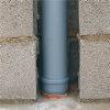 Airfit pp reparatie-inzetverloopstuk, verjongd spie/2x manchet, grijs, 110 x 110 mm