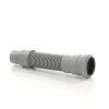 Airfit HT flexibele afvoerslang, mof x spie, grijs, 50 mm, l = 500 mm