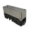 Nicoll pp lijngoot, Kenadrain HD100 Cascade, met rvs inspectieluik, 50 x 25,2 cm, C250