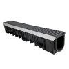 Nicoll pp lijngoot, Kenadrain HD100 Cascade, met 2x polyamide sleufrooster, 100 x 21 cm, C250
