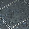Tegelput, 150x150 mm, onderaansl 50 mm, rvs 304 put/tegeldeksel, vert/hor verstelb, cap 0,75 l/s