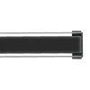 I-Drain glasrooster t.b.v. douchegoot, zwart, l = 700 mm