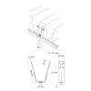BIS dakplaat ophangelement, sendzimir verzinkt, M8  detailimage_001 100x100