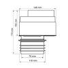 McAlpine ventapipe 100 beluchter, grijs, 110 mm  detailimage_001 100x100
