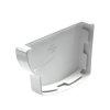 Nicoll Ovation Endstück, PVC, links, für Dachrinne, weiß, RAL9010, 125mm