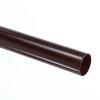 Recypipe pvc afvoerbuis met gladde einden, donkergrijs, l = 5 m, 110 x 3,2 mm