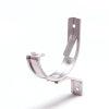 """S-lon gootbeugel voor mastgoot, aluminium, nr. 2, 4"""", grijs"""